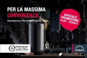 Campagna Soffietto Ricambi originali MAN
